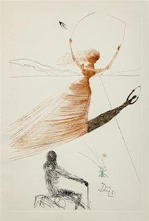 * DALI, Salvador (1904-1989), illustrator. -- DODGSON, Charles Lutwidge. Alice in Wonderland. New York, 1969.