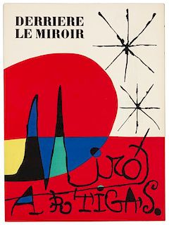 [DERRIÈRE LE MIROIR]. A group of 7 issues, comprising: