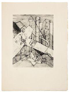 * [IDALIE, Olaf -- VERNIERE, Jacques, illustrators] -- CLAVEL, Maurice (1920-1979). Le Soulèvement De La Vie. Verona, 1971.