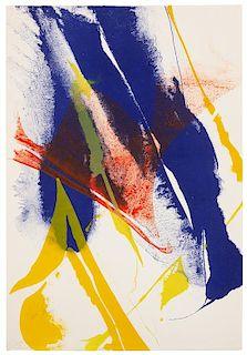 * JENKINS, Paul (1923-2012), illustrator. -- HODGES, Cyril (1919-1979). Seeing Voice Welsh Heart. Paris: Galerie Karl Flinker, 1