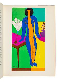 [MATISSE, Henri (1869-1954)]. REVERDAY, Pierre; DUTHUIT, Georges. The Last Works of Henri Matisse. New York: 1958.