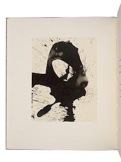 MOTHERWELL, Robert (1915-1991), illustrator. -- PAZ, Octavio (1914-1998). Three Poems. New York: The Limited Editions Club, 1987