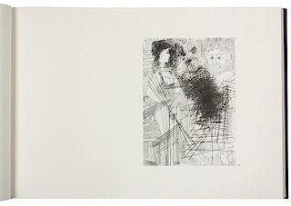 * PICASSO, Pablo (1881-1973). Picasso 347. New York: Random House / Maecenas Press, 1970.