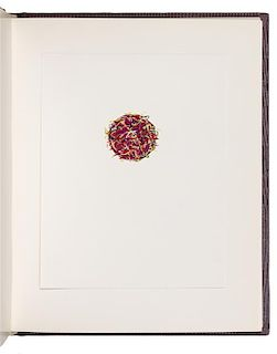 SIDELINGER, Stephen (b.1947). Book of the Sun. -Book of the Moon. -Book of the Stars. N.p.: n.p., n.d. [but dated 1982 by hand].