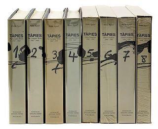 TÀPIES, Antoni (1923-2012). Tapies. The Complete Works 1943-2004. Barcelona: Edicions Polígrafia, 1988-[2004 or later].