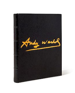 WARHOL, Andy (1928-1987). Andy Warhol's Exposures. New York: Andy Warhol Books / Grosset & Dunlap, 1979.