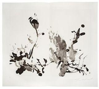 WOU-KI, Zao (1920-2013), illustrator. -- NOËL, Bernard (b.1930). Le Jardin d'encre. Liancourt: B. Dumerchez, 2007.