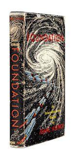 ASIMOV, Isaac (1920-1992). Foundation. New York: Gnome Press, 1951.