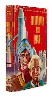 ASIMOV, Isaac (1920-1992). Foundation and Empire. New York: Gnome Press, 1952.