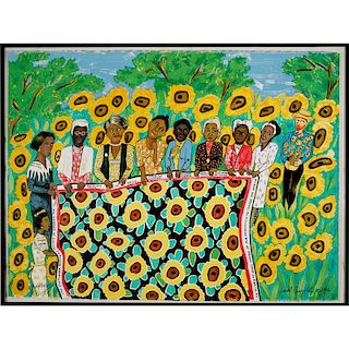FAITH RINGGOLD Silkscreen