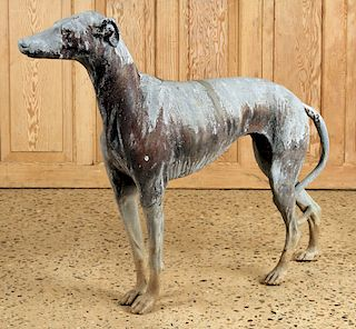 WELL SCALED LEAD FIGURE GREYHOUND 1900