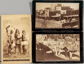 Three Southwest Cabinet Cards