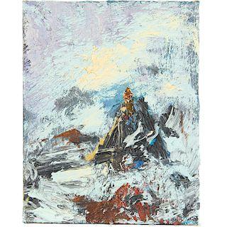 Volker Tannert, painting, 1984
