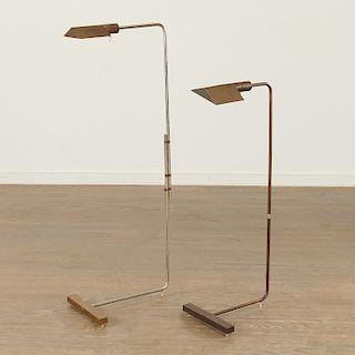 (2) Cedric Hartman floor lamps