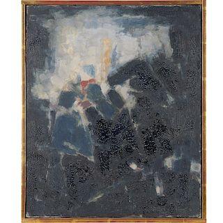 Paul Kallos, painting, c. 1955