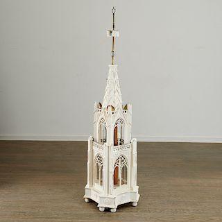 Large Masonic Ritual architectural model