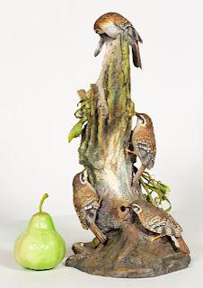 Boehm, Treecreepers Porcelain Figurine, 478