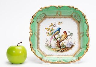 German Porcelain Floral Motif Bowl