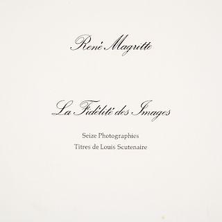 Rene Magritte, photograph portfolio, 1928/1976