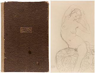 A SET OF 24 LITHOGRAPHS AFTER GUSTAV KLIMT (AUSTRIAN 1862-1918)
