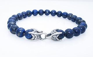DAVID YURMAN Sterling Spiritual 8mm Beads Bracelet