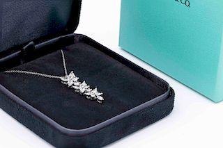 Tiffany & Co Victoria Mixed Cluster Drop Pendant