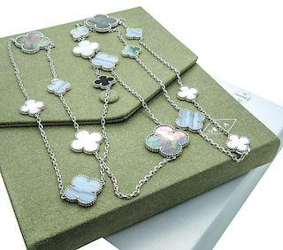 Van Cleef & Arpels Magic Alhambra Long Necklace 16