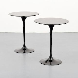 """Pair of Eero Saarinen """"Tulip"""" Occasional Tables"""