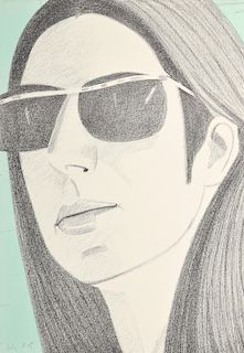 "Alex Katz ""Ada with Sunglasses"" Lithograph, Signed AP"