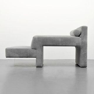 """Vladimir Kagan """"Omnibus"""" Chaise Lounge Chair/Sofa"""