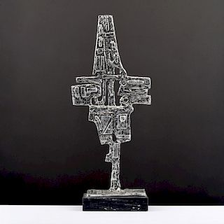 Pewter Sculpture, Manner of Donald Drumm