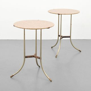 Pair of Cedric Hartman Side Tables