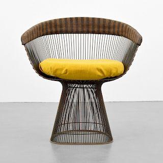 Warren Platner Bronze Finish Arm Chair
