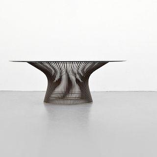 Warren Platner Bronze Finish Coffee Table