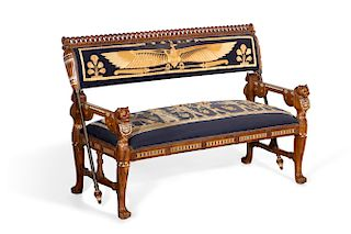 Swell A Pair Of Egyptian Revival Armchairs By Andrew Jones Short Links Chair Design For Home Short Linksinfo