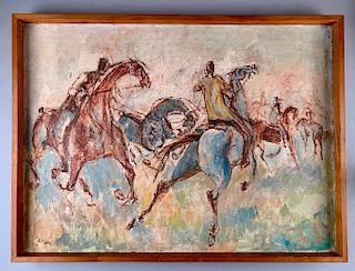 M.J.Ogden Oil, Horses