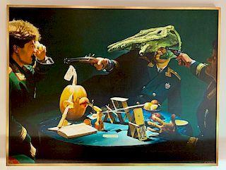 Sergei Sherstiuk Acrylic Painting