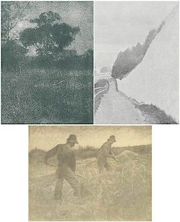 Three Half-Tones from Camera Work IV, 1903
