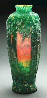 Daum Mold Blown Vase.
