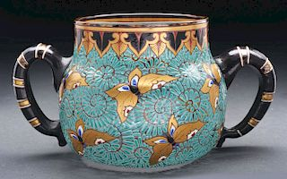 Galle Enameled Bowl.