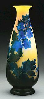 Galle Morning Glory Vase.