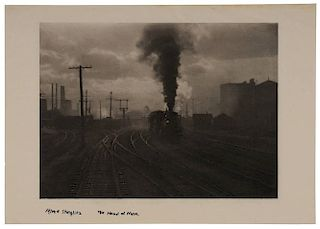 Alfred Stieglitz Photogravure