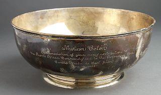 "Towle Sterling Silver ""Miriam Colon..."" Large Bowl"