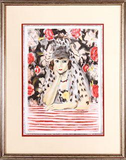 Jacques Villon After Matisse Louvre Aquatint
