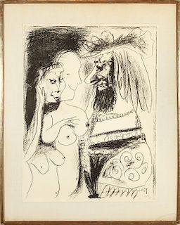 """Pablo Picasso """"Le Vieux Roi"""" Lithograph on Paper"""