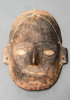 Pre-Columbian Chimú Culture Peru Pottery Mask