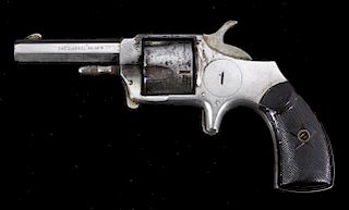 Advance Nickel Spur Trigger Revolver c. 1878