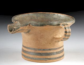 Greek Mycenean Pottery Spouted Cup