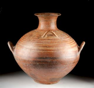Large Mycenaean Bi-Chrome Pottery Jug w/ TL
