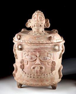 Maya Pottery Cache Vessel - ex Arte Primitivo